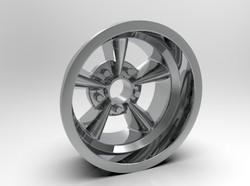 1-8 Rear American Five Spoke Wheel