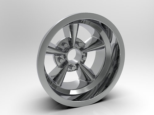 1:8 Rear American Five Spoke Wheel