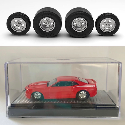 1:24 Weld Prostar Wheels  with Tires