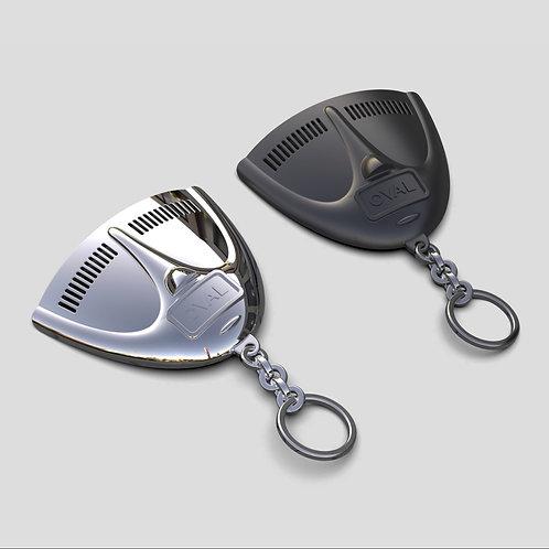 Keychain WV Black Deck Lid