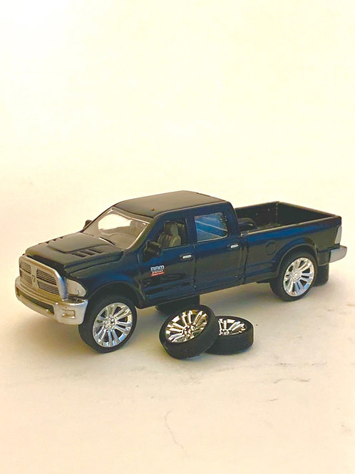 "1:64 30"" Denali Wheels and Tires."