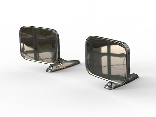 1:25 69-72 Chevy El Camino Chevelle Side View Mirrors