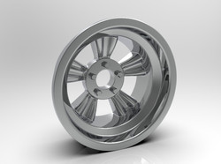 1-8 Rear _Bear Paw_ American Wheel