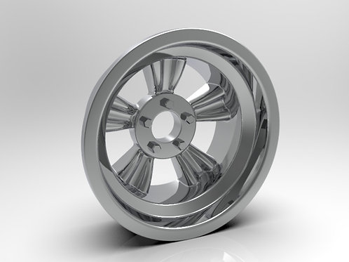1:8 Rear _Bear Paw_ American Wheel