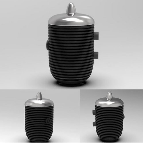 1:8 1950s Style Beehive Oil Filter Housing (set of two)