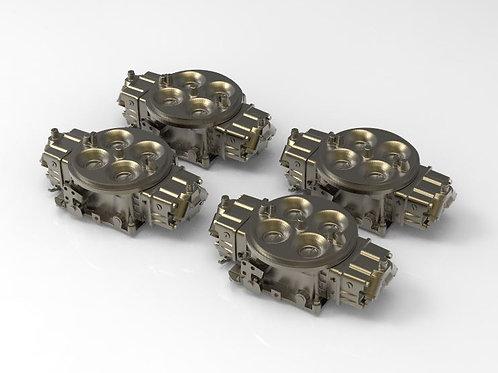 1:25 Four Barrel Carburetors (set of four)