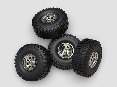 "1:64 15"" Crager wheels on  37"" (15.8mm)Mud Boggers"