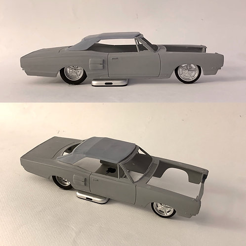 1:25 69 Dodge Coronet convertible top