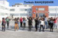 Hnc Akıllı Tahta Torbaı Bahçehir Kolejinden br görüntü.