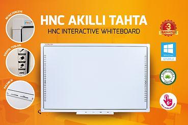 Hnc Akıllı Tahta Interactive Whiteboard Ürünü
