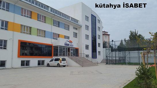 Hnc Akıllı Tahta Kütahya İsabet Okullarında bir görüntü.