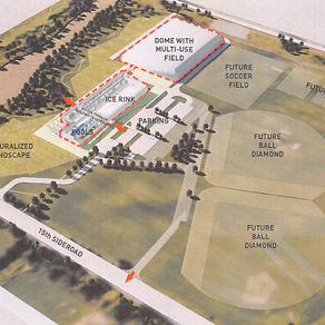 New King Township Recreation Complex in Ward 1