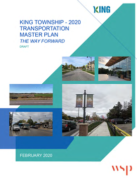 Transportation Master Plan - Final Approval Coming Before Council