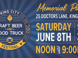 You're Invited - King City Craft Beer and Food Truck Festival