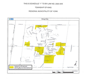 Township Initiated Proposed Amendments to Residential Exception Zones of By-law 2017-66