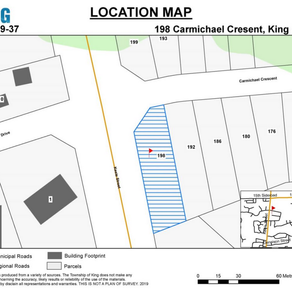 Update -Planning Application - Carmichael Cres - Public Meeting - October 21, 2019