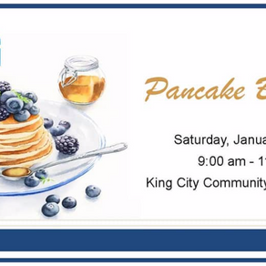 Council Pancake Breakfast In Ward 1