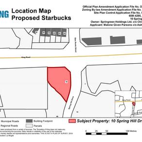 Planning Application - Starbucks