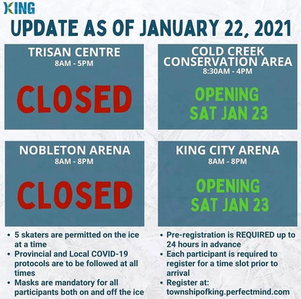 Information on Outdoor Ice Rinks