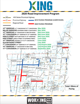 Continuing to Invest in Our Road Network for a Better Tomorrow!