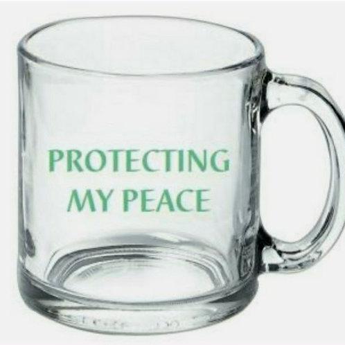 """Protecting My Peace "" Mug"