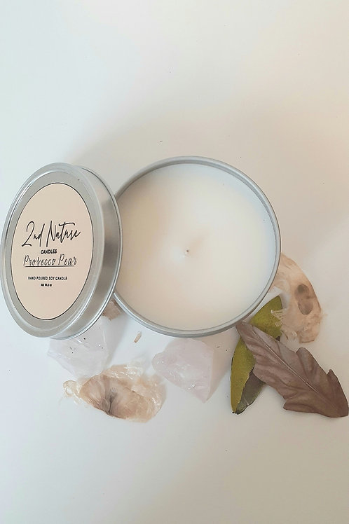 Prosecco Pear soy candle by 2nd Nature X Catalystproject