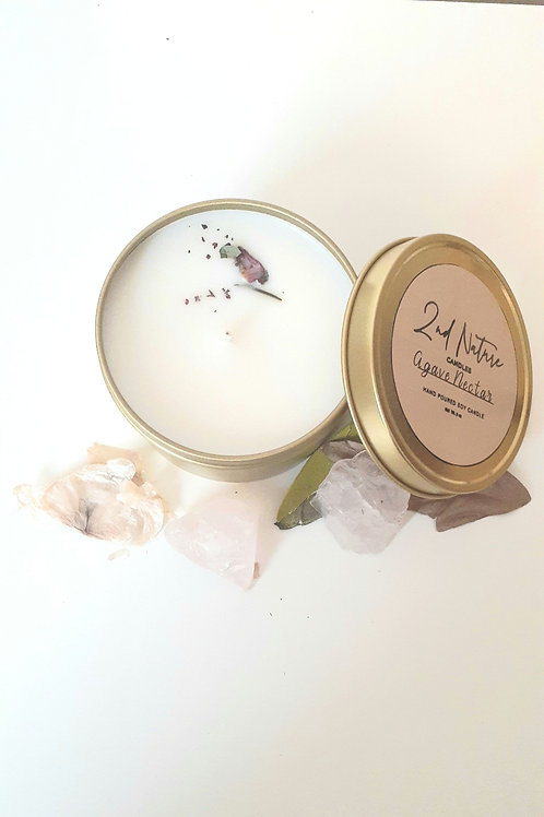 Agave-Nectar Soy candle by 2nd Nature X Catalystproject