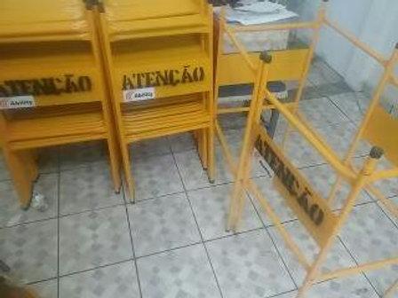 CAVALETE BIOMBO - GRADE PROTEÇÃO