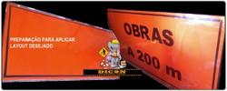 placa 2,00X1,00m