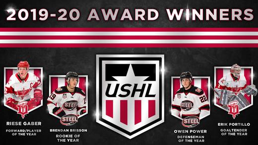 USHL Awards Graphic