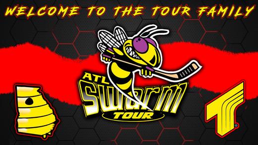Tour Swarm Graphic