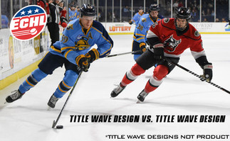 Two Title Designs going head-to-head in the ECHL