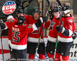 Adirondack Thunder Red Jerseys