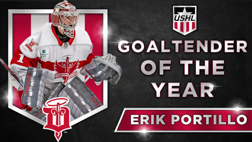USHL Goalie Of the Year Graphic