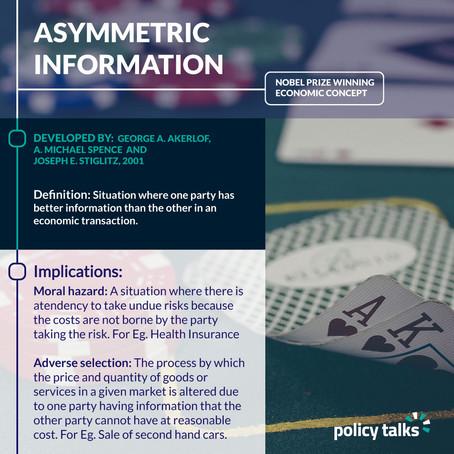 How Asymmetric Information impact people's economic behavior?