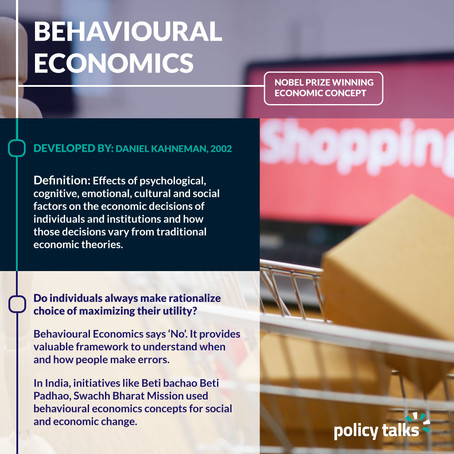 How Behavioural Economics influence  Public Policy?