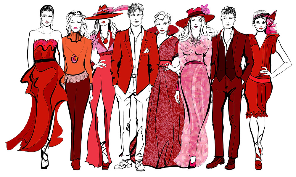 fashion law, trademarks, copyrights, patents, intellectual property, trademark, infringement, fashion sketches