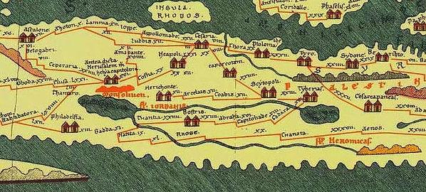 A Roman Map: the Tabula Peutingeriana