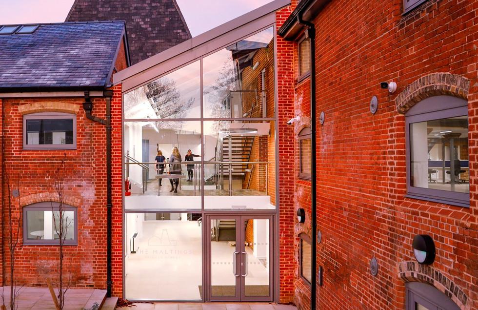 The Maltings in Ipswich - architect Epos