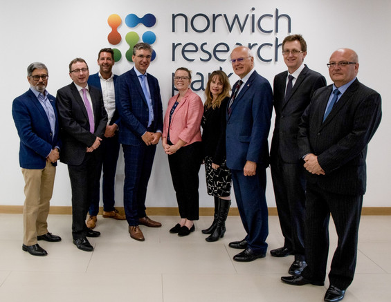 Dutch trade visit at Norwich research Park