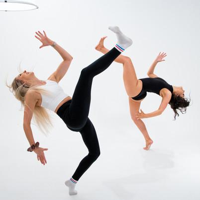 Dancer and teacher practice
