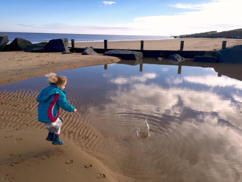 Waxham beach, Norfolk, UK