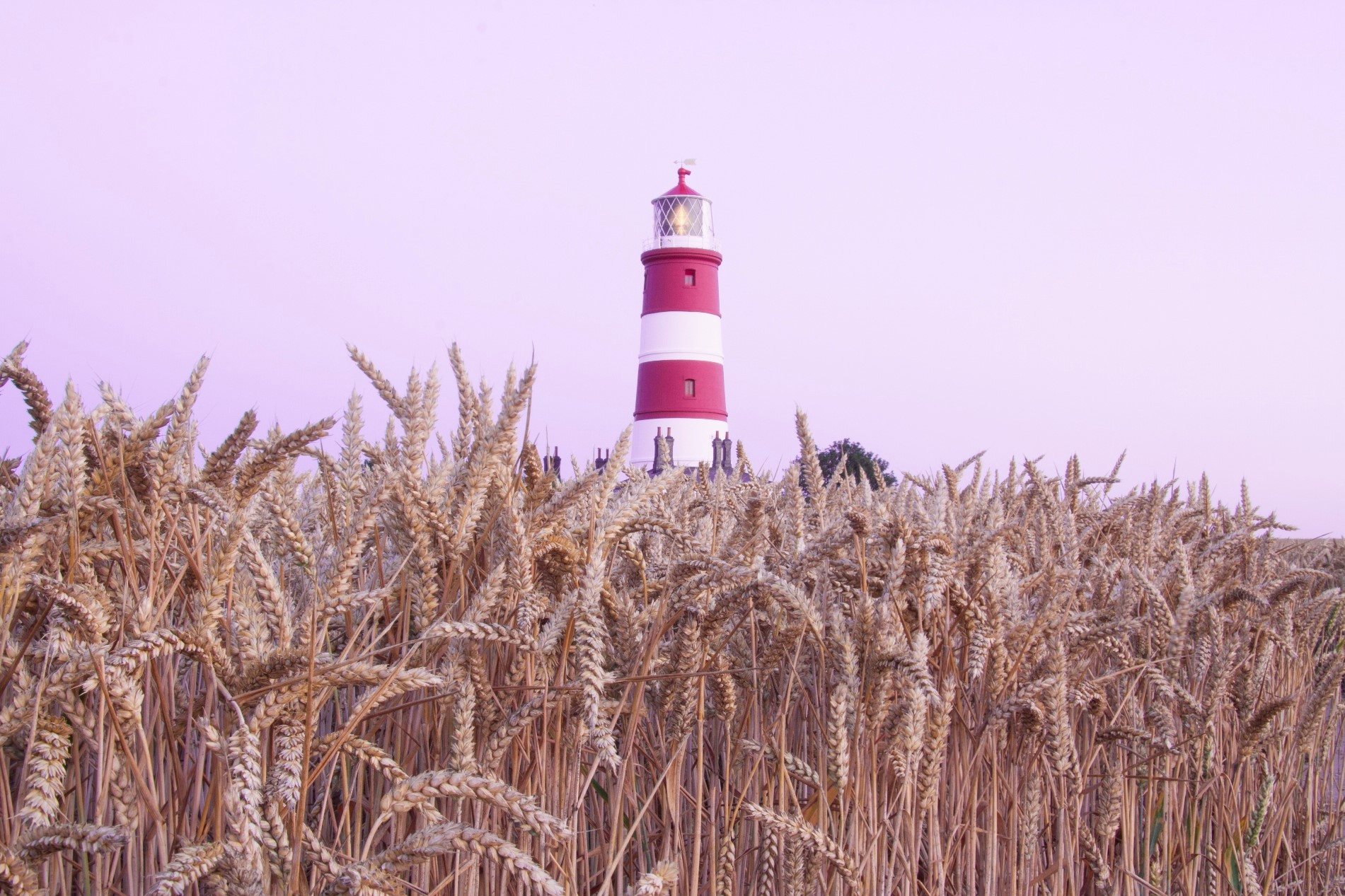 Lighthouse in Happisburgh
