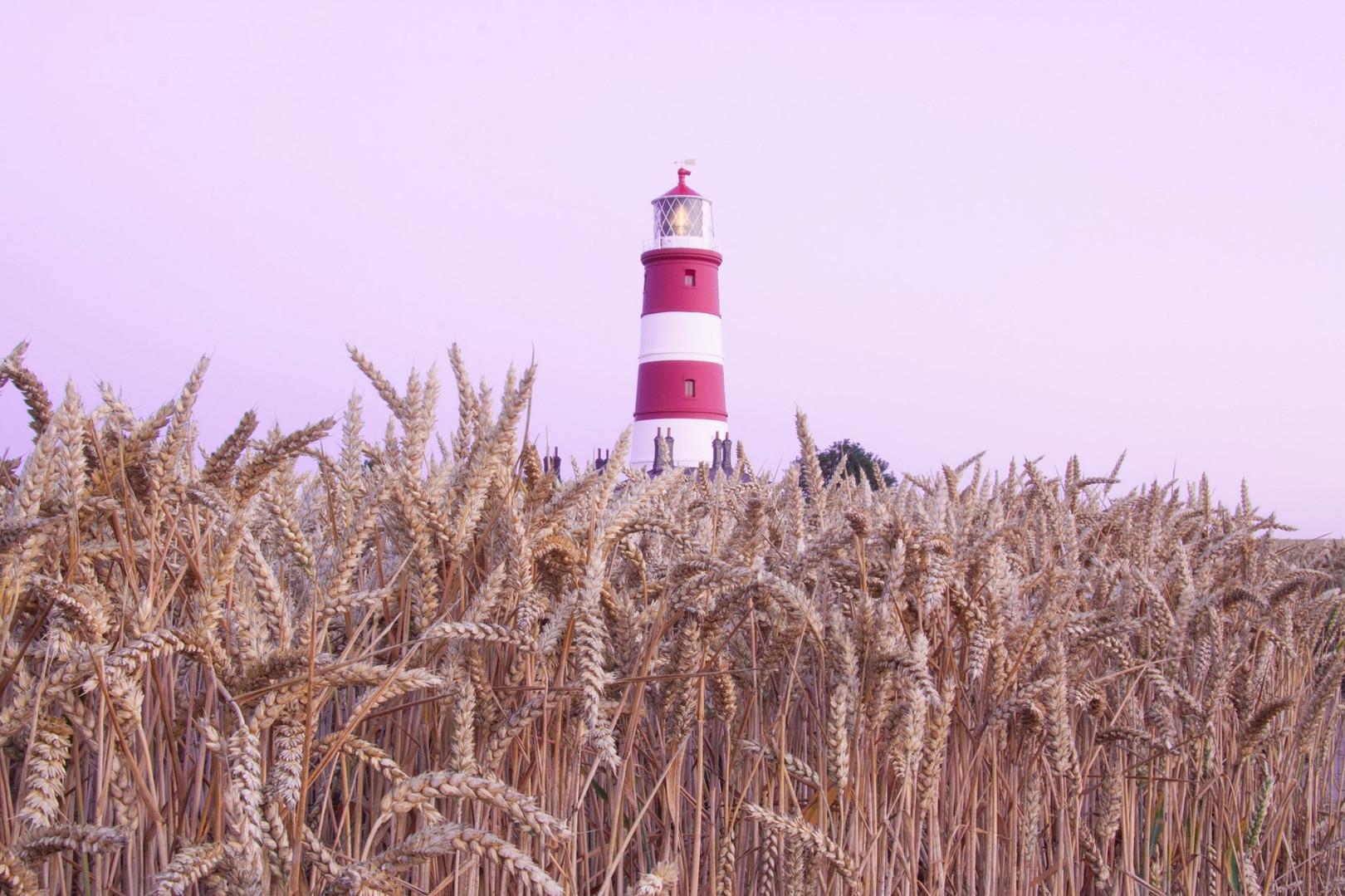 Happisburgh lighthouse, Norfolk, UK