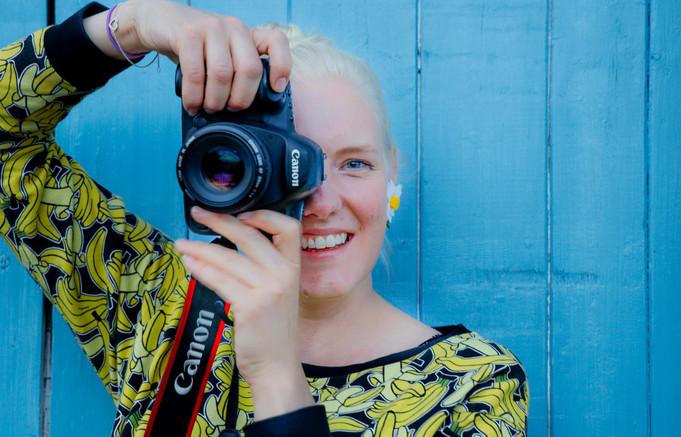 Teele Dunkley, filmmaker and photographer