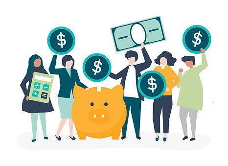 diverse-group-people-savings-concept-ill