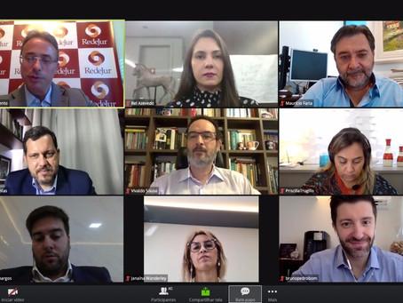 L Assembleia RedeJur começa com painéis sobre marketing jurídico e cenário econômico pós-pandemia