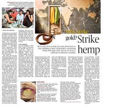 Coverage in The Hindu Metro Plus