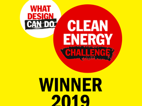 WINNERS! Clean Energy Challenge: What Design Can Do