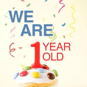 We Have Turned One!